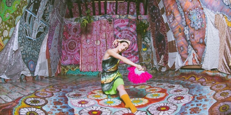 The Messenger- A Dance Performance Inside Colorful Installations ,Los Angeles