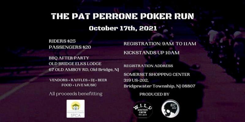 The Pat Perrone Poker Run 2021 ,Bridgewater Township