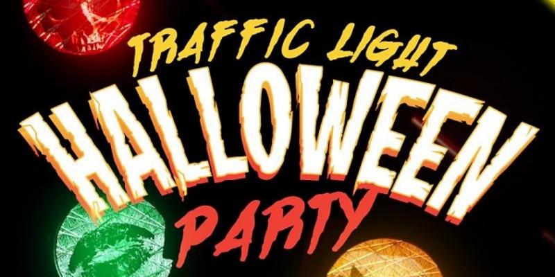 Traffic Light Halloween Party ,Queens