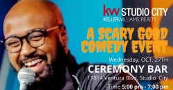 A Scary Good Comedy Show Featuring Mateen Stewart & Host Helene Cornell ,Los Angeles
