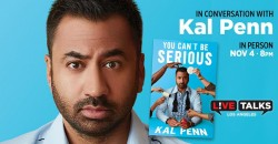 An Evening with Kal Penn ,Los Angeles