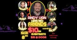 Andy Van has no Friends ,Los Angeles