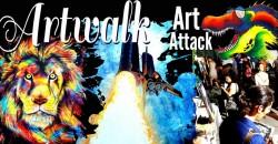 Artwalk at Art Attack! ,Fort Lauderdale