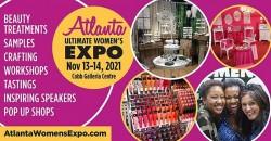Atlanta Women's Expo, Beauty + Fashion + Pop Up Shops + Crafting + Celebs! ,Atlanta