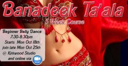 Banadeek Ta'ala  - Beginner Belly Dance 5wk course ,Atlanta