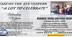 "Big Bethel AMEC_JAZZ VESPERS - JAZZ  ON THE AVE ""A Lot To Celebrate"" ,Atlanta"