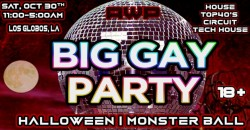 Big Gay Party: Halloween | Monster Ball ,Los Angeles