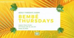 Caribbean Dance Class - Bembé Thursdays ,Atlanta