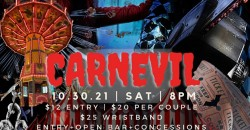 """""""Carnevil"""" Halloween Party ,Forest Park"""