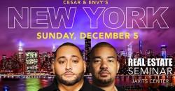 Cesar & DJ Envy's Real Estate Seminar New York