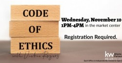 Code of Ethics with Vickie Rogers ,Peachtree City
