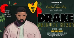 DRAKE Tribute Night: Certified Lover Boy Boat Party NYC ,New York
