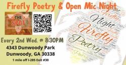 Firefly Poetry & Open Mic Night ,Dunwoody