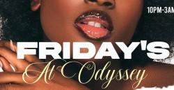FRIDAYS:  FRIDAYS AT ODYSSEY ,Atlanta