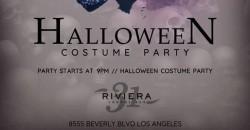 Halloween Costume Ball @ Riviera 31 inside The Sofitel Hotel Beverly Hills ,los angeles