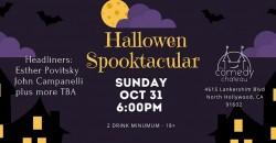 Halloween Spooktacular Comedy Show : Esther Povitsky, John Campanelli ,Los Angeles