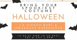 Halloween Spuktacular Hidden Bars and Speakeasy Experience. ,Los Angeles