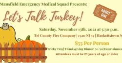 Let's Talk Turkey! ,Hackettstown