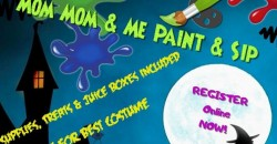Mom Mom and Me Paint & Sip  Halloween Edition (Juice boxes included) ,Wilmington