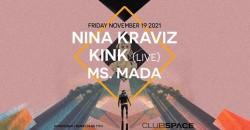 Nina Kraviz + KiNK (Live)@ Club Space Miami ,Miami