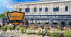 No Cover ~ Tommy's  ~ Sea Bright NJ ~ Afternoon Happy Hour ~ticket required ,Sea Bright