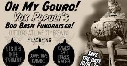 Oh My Gourd! Vox Populi's Boo Bash Fundraiser! ,Philadelphia
