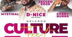 Orlando Culture Fest 2021 w/ DJ D Nice and Friends; Performances By Mystikal and Jagged Edge