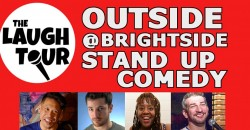 OUTSIDE @ The Brightside! Stand Up Comedy Sundays ,Jersey City