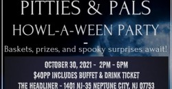 Pitties and Pals Howl-A-Ween Party ,Neptune City