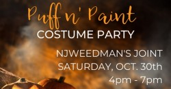 Puff n' Paint Costume Party ,Trenton