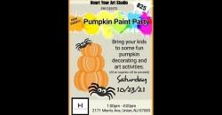 Pumpkin Paint Party ,Union
