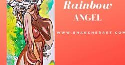 Rainbow Angel: A Night with Shan Cher Art  Show ,Atlanta