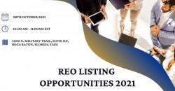 REO Listing Opportunities 2021 ,Boca Raton