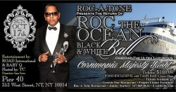 Roc-A-Tone Black and White Ball Boat Cruise ,New York