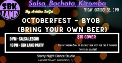 Salsa/Bachata/Kizomba PARTY - Octoberfest 2021 - NJ ,Garwood