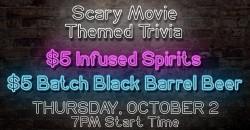 Scary Movies Trivia ,Delray Beach