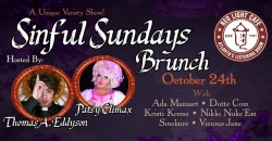 Sinful Sundays Brunch: A Variety Show feat. Drag, Burlesque, Comedy, Song + ,Atlanta
