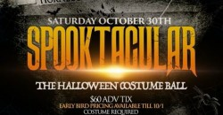 SPOOKTACULAR - A Halloween Costume Yacht Party Aboard the Hornblower
