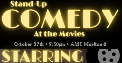 Stand-Up Comedy at the Movies ,Evesham