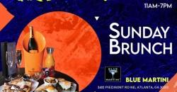 Sunday Brunch at Blue Martini ,Atlanta
