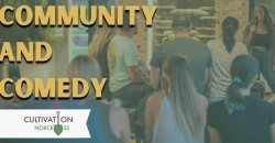 The October Norcross Community and Comedy Party at Cultivation Brewery ,Norcross