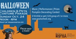The Paulus Hook Halloween Children and Pets Costume Parade ,Jersey City