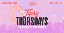Tipsy Thursdays  at Tipsy Flamingo - Free Drink with RSVP ,Miami