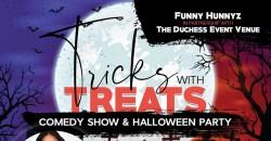 Tricks with Treats: Halloween Comedy Party ,Ellenwood