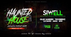 Twisted Funk Presents: HAUNTED HOUSE - Halloween Costume Party with Siwell ,Fort Lauderdale