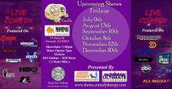 Vanilla Comedy Series  @  Mompou Newark, NJ - November 12th 7:30 Show ,Newark