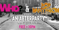 Who? Weekly + Pop Pantheon Dance Party in LA!!! ,Los Angeles