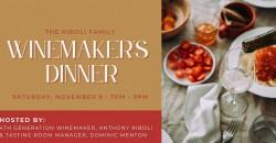 Winemaker's Dinner @ San Antonio Winery, Los Angeles ,Los Angeles